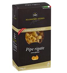 Pasta Senza Glutine MASSIMO ZERO Pipe rigate
