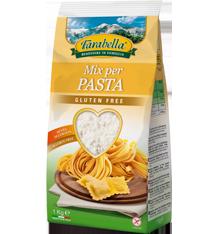 Farina senza glutine Farabella Mix per pasta