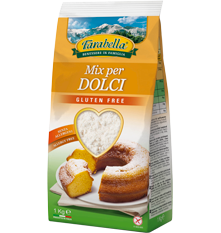 Farina senza glutine Farabella Mix per Dolci