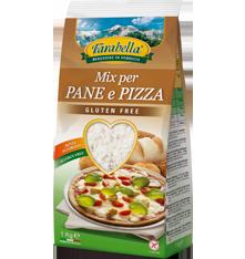 Farina senza glutine Farabella Mix per Pane e pizza