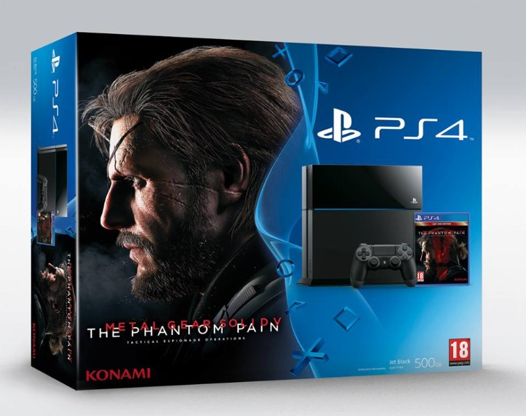 PS4 con il Nuovo Metal Gear Solid