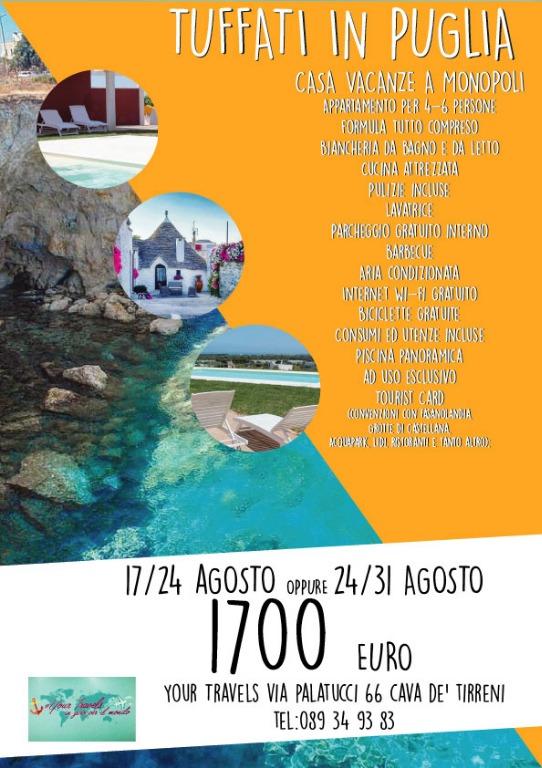 Tuffati in Puglia...