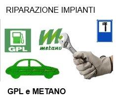 Riparazione Impianti GPL e Metano