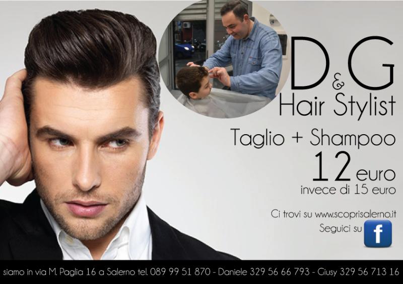 Taglio + Shampoo 12 euro