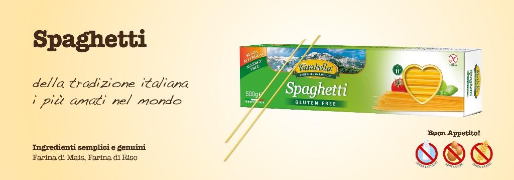 Pasta senza glutine Farabella Spaghetti