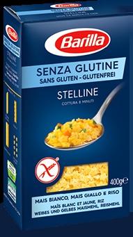 Pasta Barilla senza glutine STELLINE