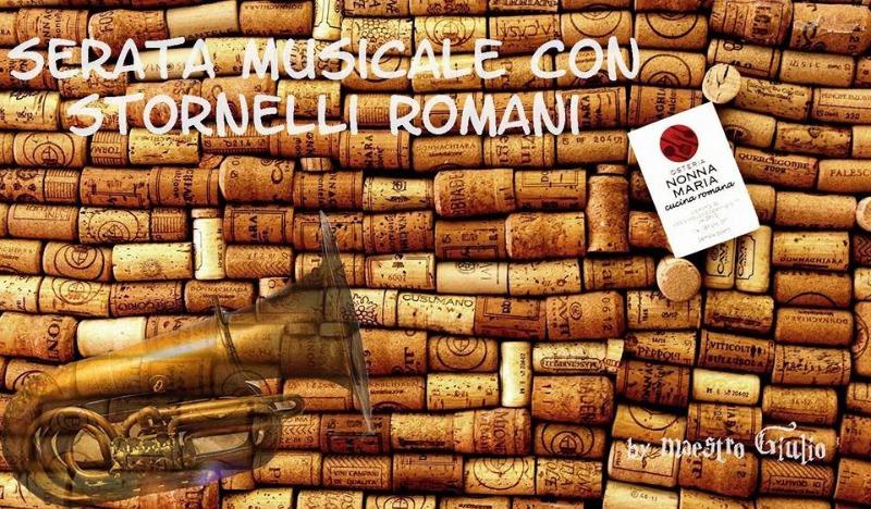 Serata musicale stornelli romani
