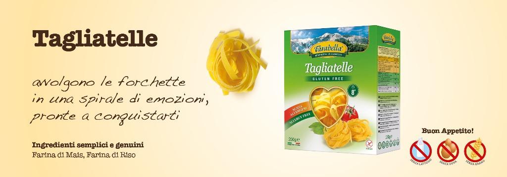 Pasta senza glutine Farabella Tagliatelle