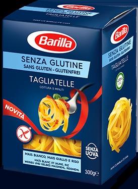 Pasta Barilla senza glutine TAGLIATELLE