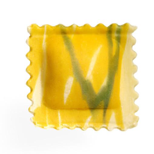 Agnolotto variegato giallo