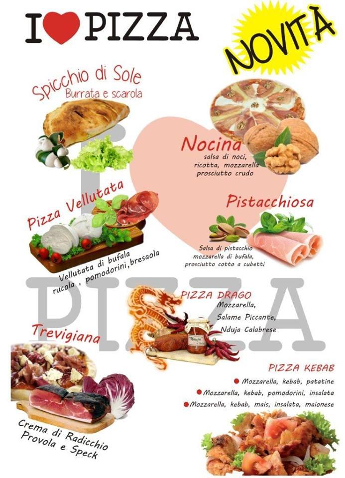I Love Pizza Le specialità