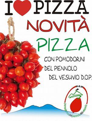 Novità Pizza con pomodorini del Piennolo del Vesuvio