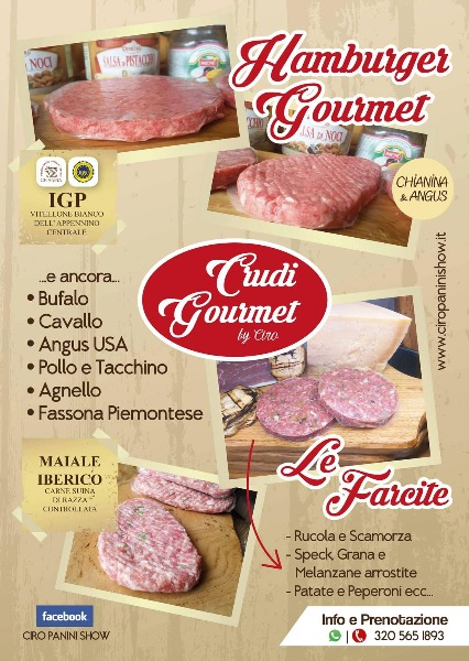 Hamburger e Crudi Gourmet. In arrivo carne ricca di Omega3