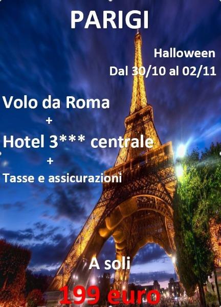 Halloween a Parigi a 199 €