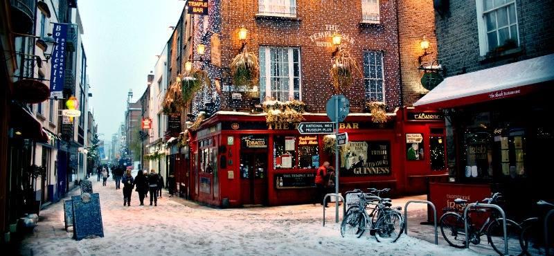 Dublino 12-15 dicembre 3 notti € 230 a persona