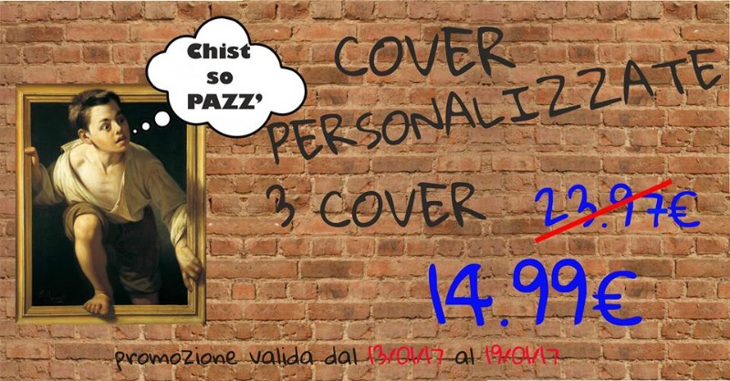 Chist so pazz!3 cover personalizzate a soli 14,99€