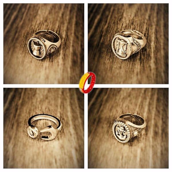 Nuovi anelli in argento 925% realizzati presso il nostro laboratorio