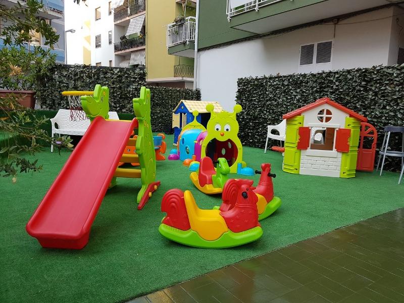 Area giochi per i bimbi