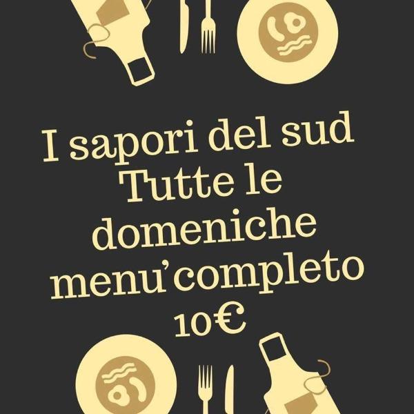 Tutte le Domeniche menù completo 10 €