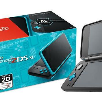 Console di Gioco New Nintendo 2DS XL Nero e Turchese € 139,90