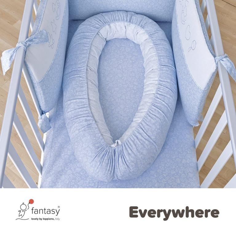 Con il Nidotto puoi portare il bambino davvero ovunque, anche dalla culla al lettone dei genitori per il bed-sharing