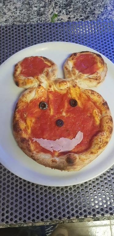 Orsetto pizzo per i più piccoli