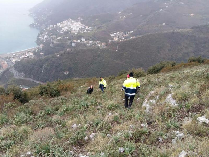 Cava de' Tirreni: ritrovato il prof. Grieco su Monte San Liberatore