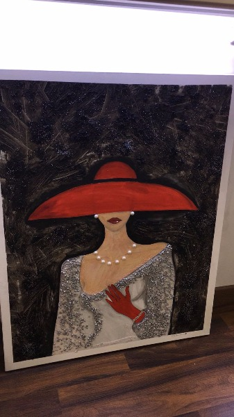 Miss Elite è anche Arte... realizzazioni di Toscano Cerino Sara... Tele materiche o olio su tela a partire da 80€