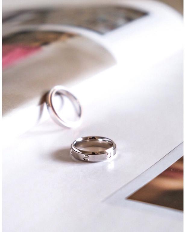 Anello simil Cartier LOVE in argento925
