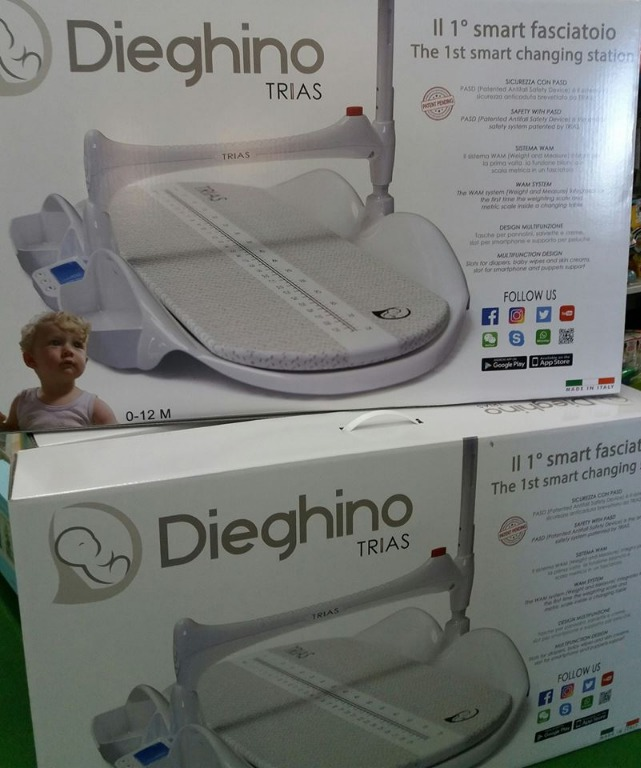 Dieghino il primo smart fasciatoio 100% made in italy