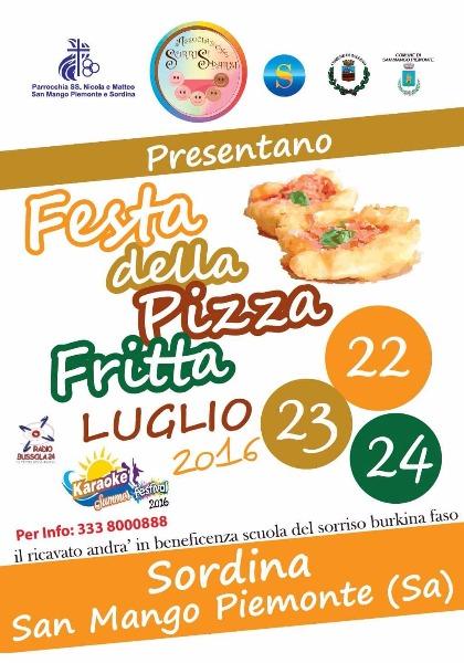 A Sordina va in scena la Festa della Pizza Fritta