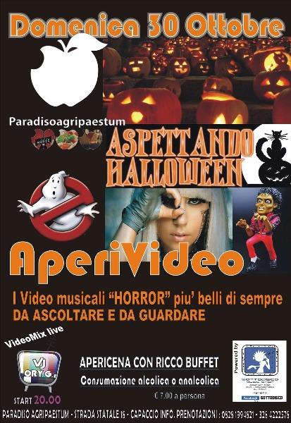 30 ottobre Aperivideo aspettando Halloween