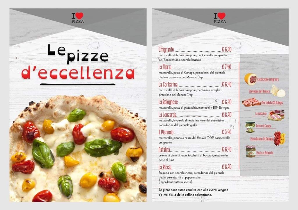 Vieni a provare le nostre pizze d'eccellenza