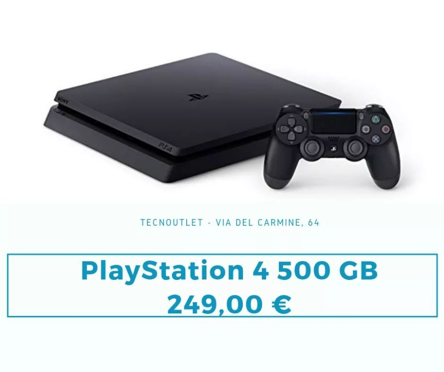 Play Station 4 500gb 249€