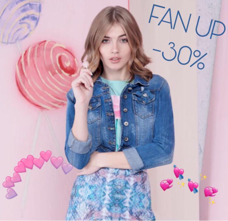 Fan Up -30%