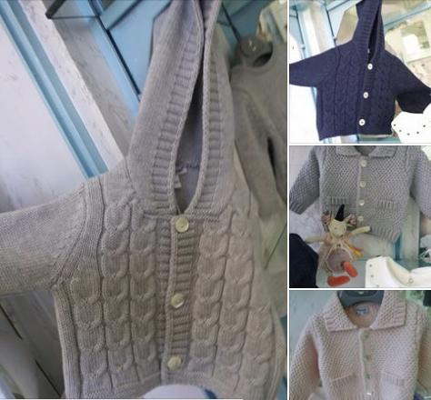 Questi cardigan in pura lana merinos li trovi al 20% di sconto