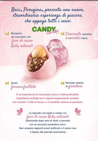 Finalmente in distribuzione da Candy Candy il bacio Perugina ROSA