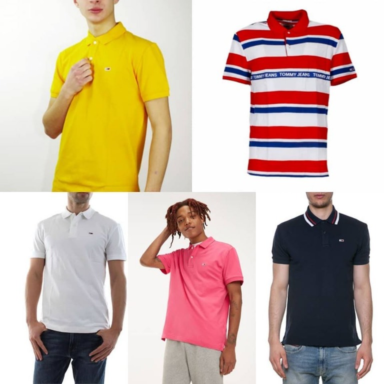 Tommy Jeans...polo Summer collection in 12 colori...da 49.90