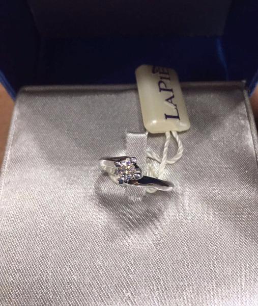PROMO, con soli 15 grammi di oro regali un fantastico solitario modello Valentino con diamante 0.20 carati