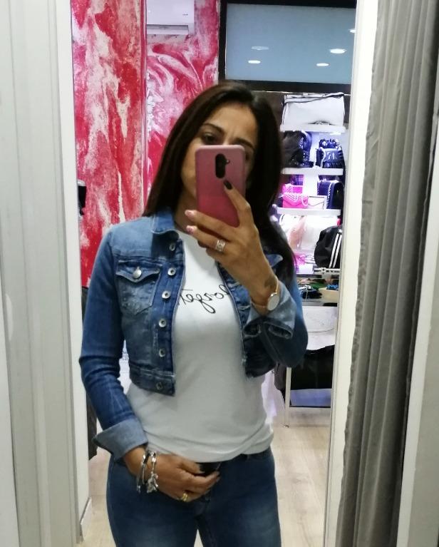 Giubbino di Jeans nuovi arrivi FAN UP