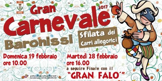 Carnevale a Baronissi: martedì 28 la sfilata dei Carri ed il Gran Falò