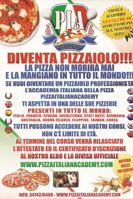 Diventa Pizzaiolo