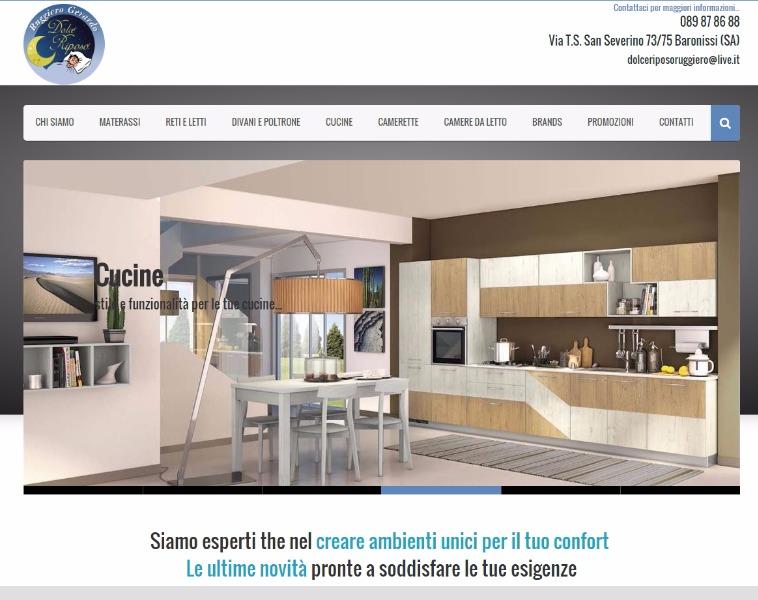 Dolce riposo ruggiero baronissi materassi arredamento for Sito web per costruire la tua casa